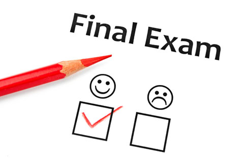Examinations For The End Of Semester